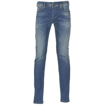 material Men Skinny jeans Diesel SLEENKER Blue / 0855q