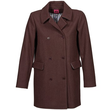 material Women coats Bensimon WHITER PRUNE