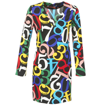 material Women Short Dresses Love Moschino PICHANI Multicoloured