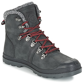 Shoes Women Mid boots Palladium PALLABROUSSE HIKING Black