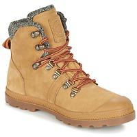 Shoes Women Mid boots Palladium PALLABROUSSE HIKING HONEY
