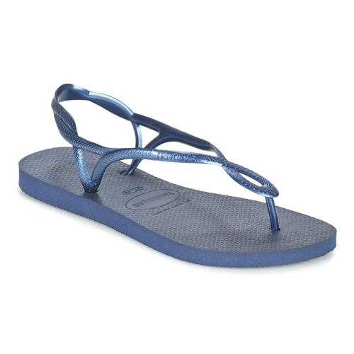 Shoes Women Sandals Havaianas LUNA Blue / Marine