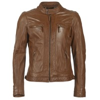 material Men Leather jackets / Imitation le Oakwood 60901 Cognac