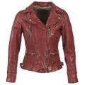 material Women Leather jackets / Imitation le Oakwood