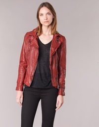 material Women Leather jackets / Imitation le Oakwood VIDEO Red