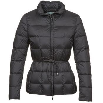 material Women Duffel coats Geox CHESQUALE Black