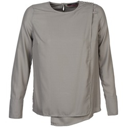 material Women Blouses La City NIETOU Grey