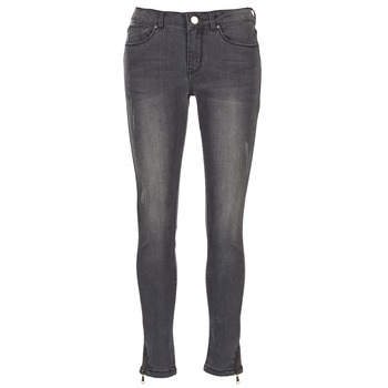 material Women slim jeans Moony Mood IFABANE Grey
