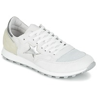Shoes Women Low top trainers Yurban FILLIO White / Beige