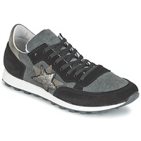 Shoes Women Low top trainers Yurban FILLIO Grey / Black