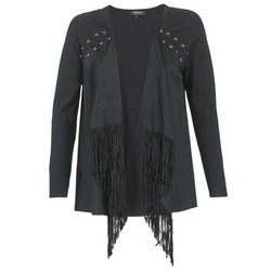 material Women Jackets / Cardigans Morgan MIKER Black