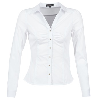 material Women Shirts Morgan CARAM White