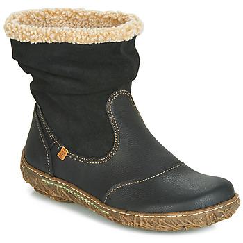 Shoes Women Mid boots El Naturalista NIDO Black