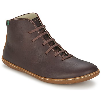 Shoes Men Mid boots El Naturalista EL VIAJERO Brown