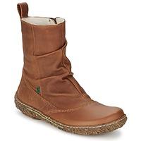 Shoes Women Mid boots El Naturalista NIDO Brown