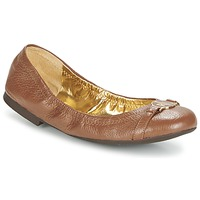 Shoes Women Ballerinas Ralph Lauren BETHENNY COGNAC