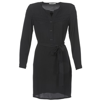 material Women Short Dresses See U Soon SANTINE Black