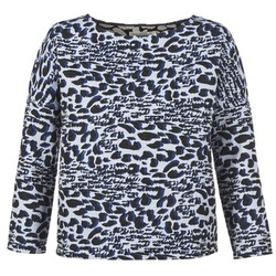 material Women jumpers See U Soon SAVERIA Grey / Black / Blue