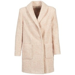 material Women coats Naf Naf APPLE Beige