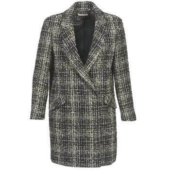 material Women coats Naf Naf ADOUCE Grey