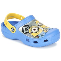 Shoes Children Clogs Crocs CC Minions Clog Blue / Yellow