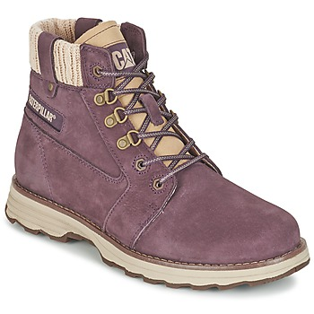 Shoes Women Mid boots Caterpillar CHARLI Violet
