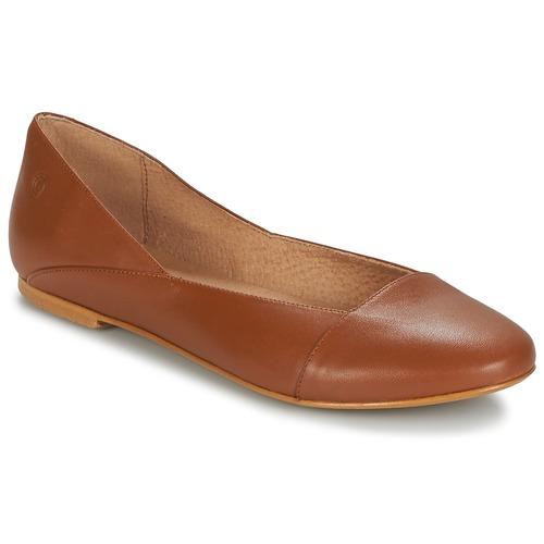 Shoes Women Ballerinas Casual Attitude TOBALO Brown