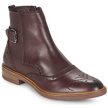 Shoes Women Mid boots Marc O'Polo NERETTA BORDEAUX