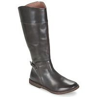 Shoes Women Boots Kickers CRICK Brown / Dark