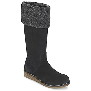 Shoes Women Boots Kickers KARINE Black
