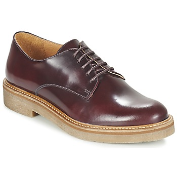 Shoes Women Derby shoes Kickers OXFORK Bordeaux