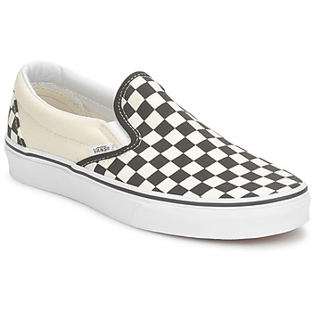 Shoes Slip ons Vans CLASSIC SLIP ON Black / White