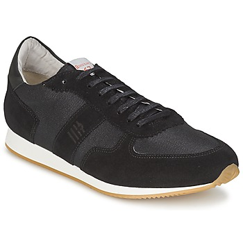 Shoes Men Low top trainers Serge Blanco VARN Black