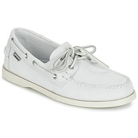 Shoes Men Loafers Sebago DOCKSIDES White