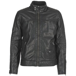 material Men Leather jackets / Imitation le Petrol Industries VESTE JAC150 Black