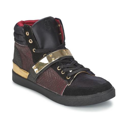 Shoes Women High top trainers SuperTrash GOLDY Bordeaux
