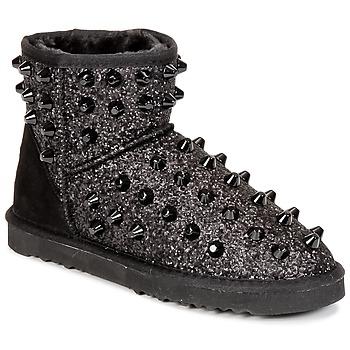 Shoes Women Mid boots Colors of California MASTIA Black