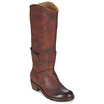 Shoes Women Boots Dkode INDIANA Brown / Dark
