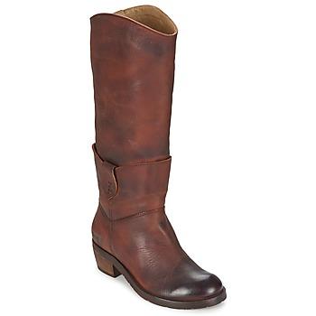 Shoes Women Boots Dkode INDIANA Brown / Dark