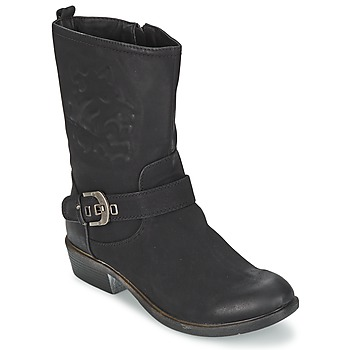 Shoes Women Mid boots Spot on GANIA Black
