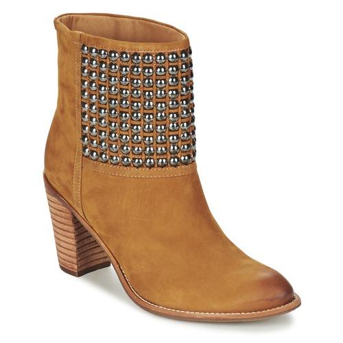Shoes Women Ankle boots Dumond GUOUZI Brown