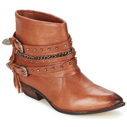 Shoes Women Mid boots Dumond ZIELLE Brown
