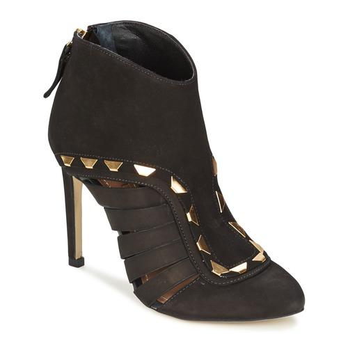 Shoes Women Low boots Dumond ELOUNE Black