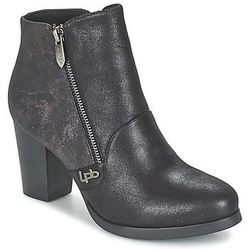 Shoes Women Ankle boots Les P'tites Bombes BALTIMORE Black