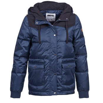 material Women Parkas Nikita EXPLORING DOWN Blue