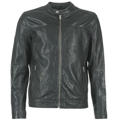 material Men Leather jackets / Imitation le Selected BIRMINGHAM Black