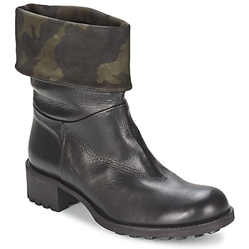 Shoes Women Mid boots JFK TARZAN Black