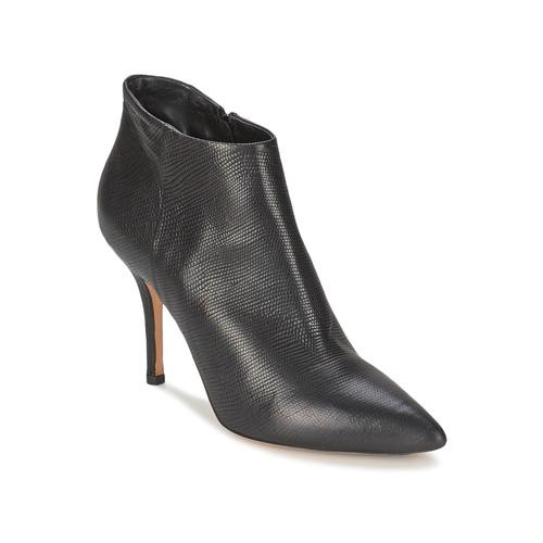 Shoes Women Low boots JFK LIZARD Black