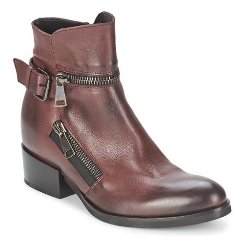 Shoes Women Ankle boots Strategia ZOOLI Bordeaux