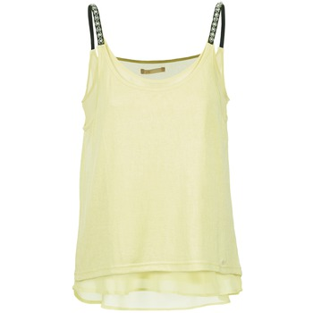 material Women Tops / Sleeveless T-shirts LPB Woman BRICCOM Yellow